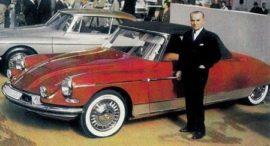 Citroën DS cabriolet par et avec Henri Chapron
