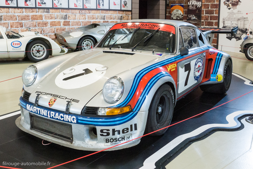 Porsche 911 Carrera RSR turbo de 1974