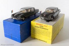 Dinky Toys réf. 1435 et série limitée Elysée - Citroën DS Présidentielle