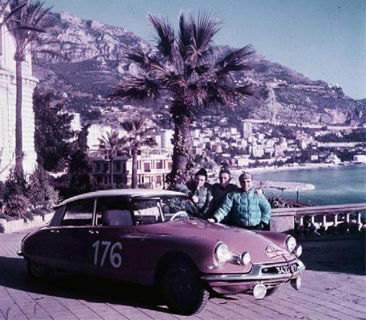 Citroën ID 19 vainqueur du Rallye de Monte Carlo 1959