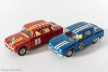 Dinky Toys réf. 1401 et 1414 - Alfa Roméo Giulia et Renault 8 Gordini