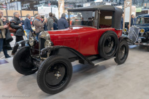 Rétromobile 2019 - Citroën C3 5HP 1933