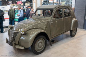 Rétromobile 2019 - Citroën 2CV 1948