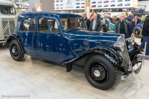 Rétromobile 2019 - Citroën Traction