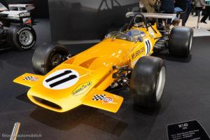 Rétromobile 2019 - Mac Laren Formule 1 M14D 1970