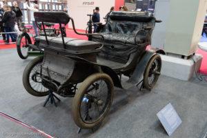 Rétromobile 2019 - Vis à vis De Dion Bouton 1890