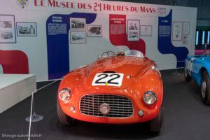 Rétromobile 2019 - Ferrari 166 MM 1ère 24 heures du Mans 1949