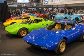 Rétromobile 2019 - Les Lancia Stratos
