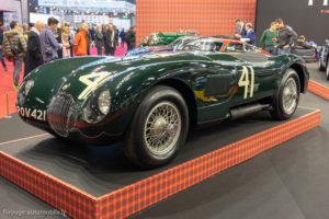 Rétromobile 2019 - Jaguar type C