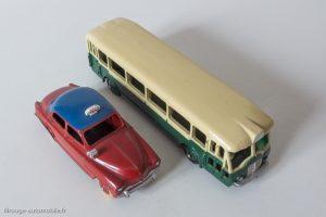 Autobus Parisien et Simca Arond Taxi - Dinky Toys 25D et 24UT - Rapport d'échelle