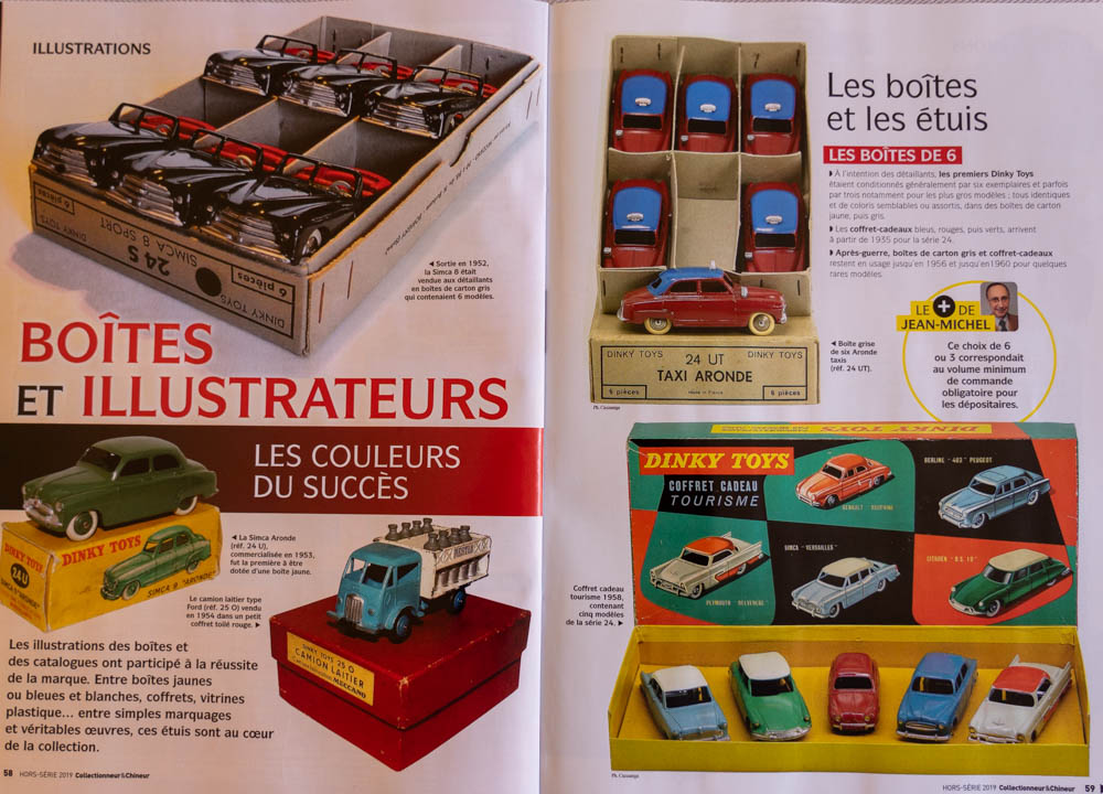 Collectionneur & Chineur - Hors-série 2019 : La collection amoureuse Dinky Toys
