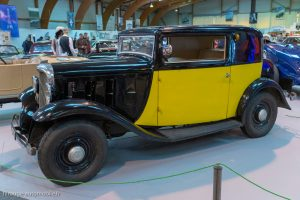 Rétro Passion Rennes 2019 - 100 ans Citroën - Rosalie 8cv 1933