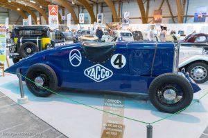 Rétro Passion Rennes 2019 - 100 ans Citroën - Petite Rosalie de record 1933