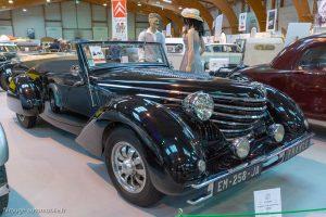 Rétro Passion Rennes 2019 - 100 ans Citroën - Traction 11B cabriolet par Clabot 1939