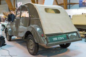 Rétro Passion Rennes 2019 - 100 ans Citroën - Prototype 2 CV A 1939