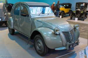 Rétro Passion Rennes 2019 - 100 ans Citroën - 2 CV 1951