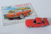 Renault Floride coupé Dinky Toys Editions Atlas réf. 543 sur catalogue 1960