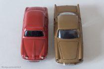 Renault Dauphine et Floride - Dinky Toys réf. 24 E et 543 - respect de l'échelle