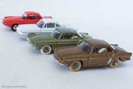 Renault Floride coupé - gamme Dinky Toys et Editions Atlas réf. 543