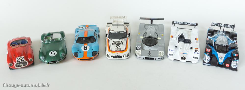 1949/2009 : Les 7 vainqueurs des 24 Heures du Mans des années en 9