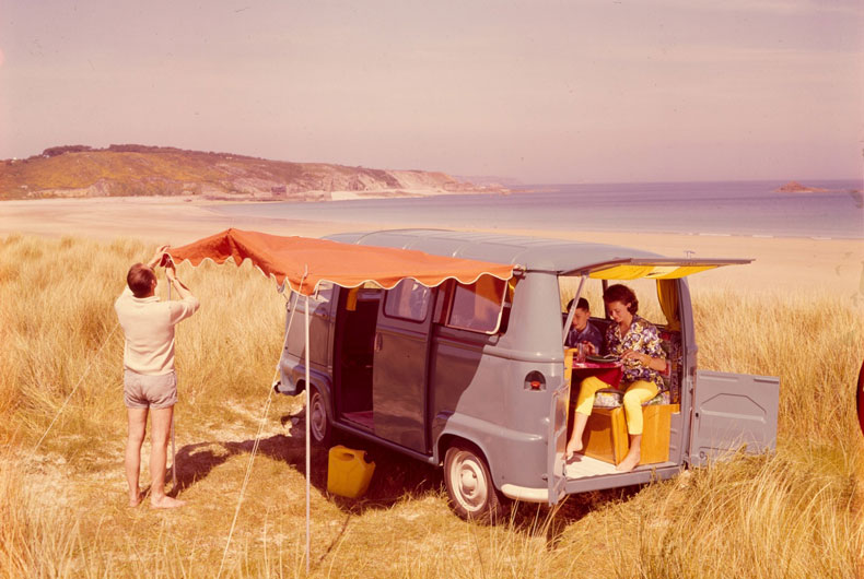 Estafette camping - Catalogue Renault