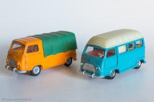 Dinky Toys réf. 563 & 565 - Renault Estafette pick-up et camping