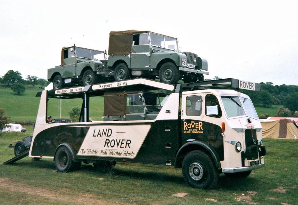 Transporteur Land Rover - Reconstitution du camion Leyland Brockhouse