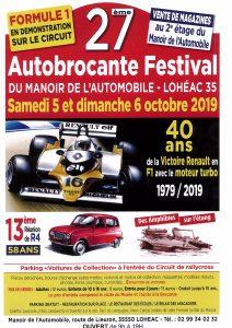 Autobrocante de Lohéac 2019 - L'affiche