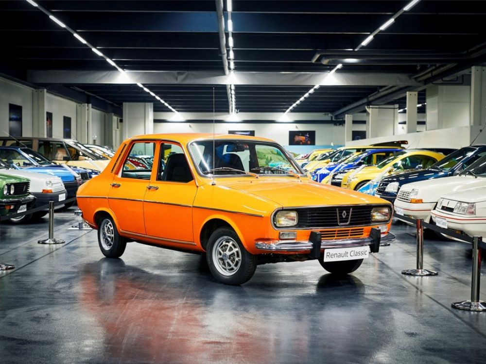 Renault 12 berline (photo Renault Classic)