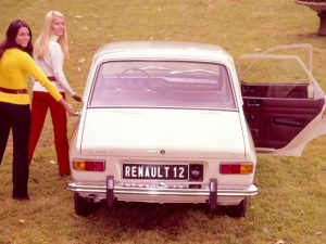 Renault 12 berline (photo Renault)