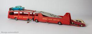 Dinky Toys réf. 984 et 985 - Chargement des voitures sur Car Carrier et Trailer