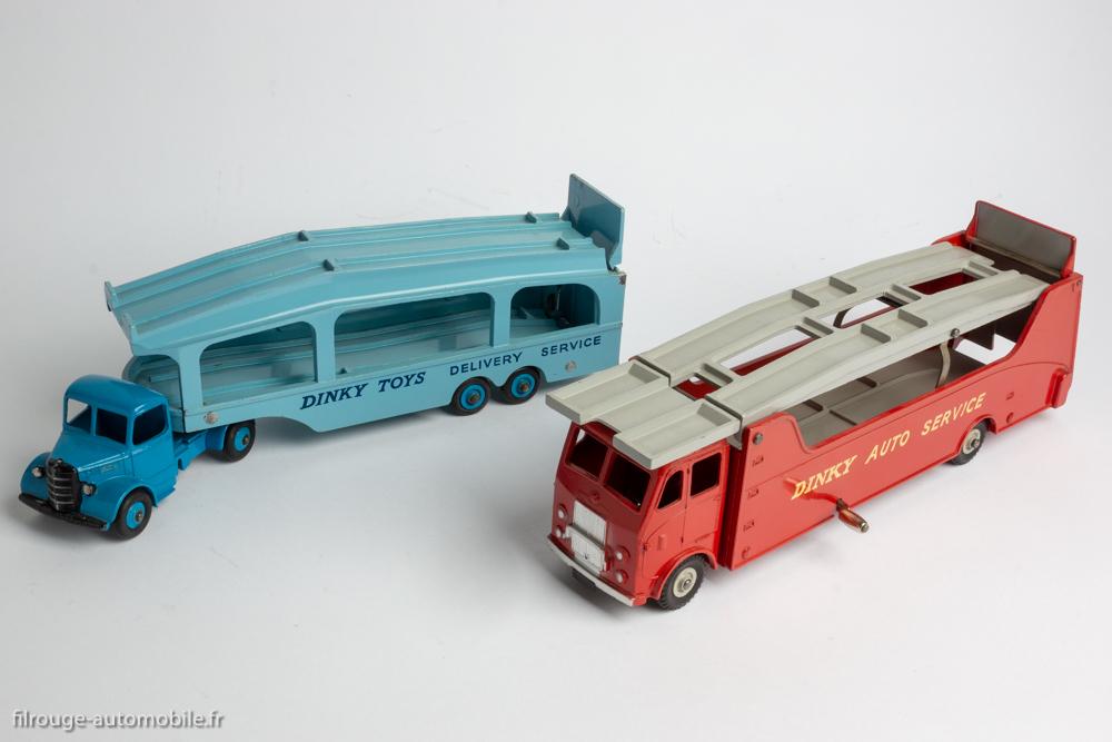 Dinky Toys réf. 982 et 984 - Bedford Pullmore et Car Carrier Leyland