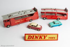 Dinky Toys réf. 984 et 985 - Car Carrier et Trailer for Car Carrier