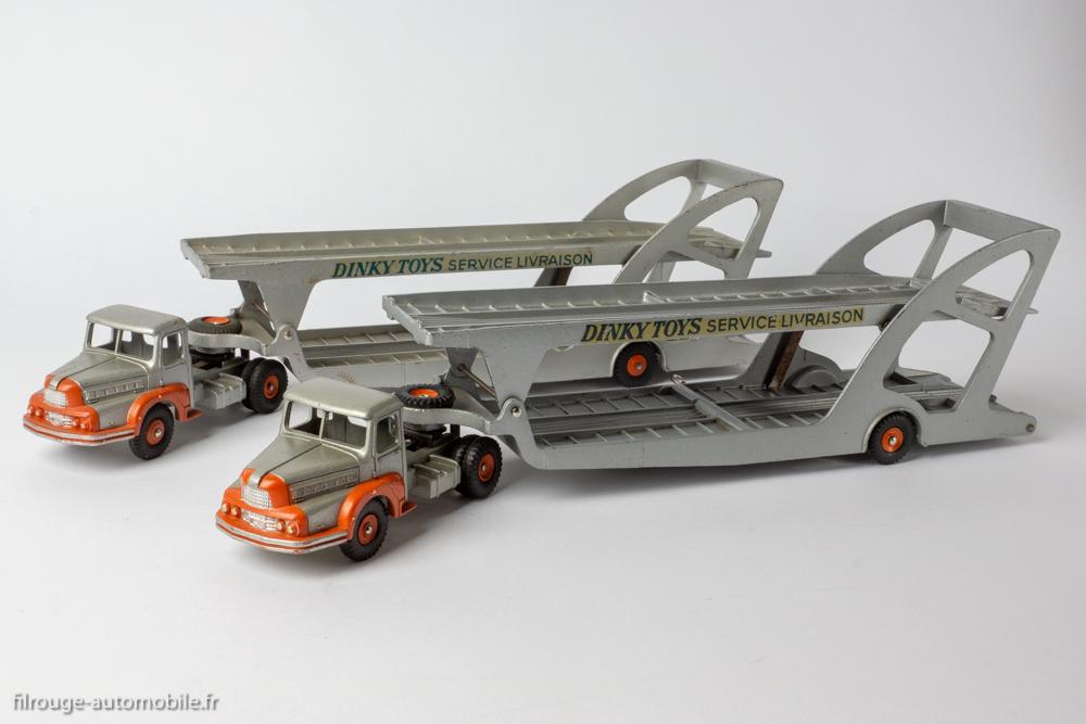 39A//894 DTF119 DINKY TOYS Crochet en tôle Unic Boilot porte voitures