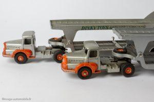 Dinky Toys 39A et 894 - Tracteur Unic porte voitures Boilot