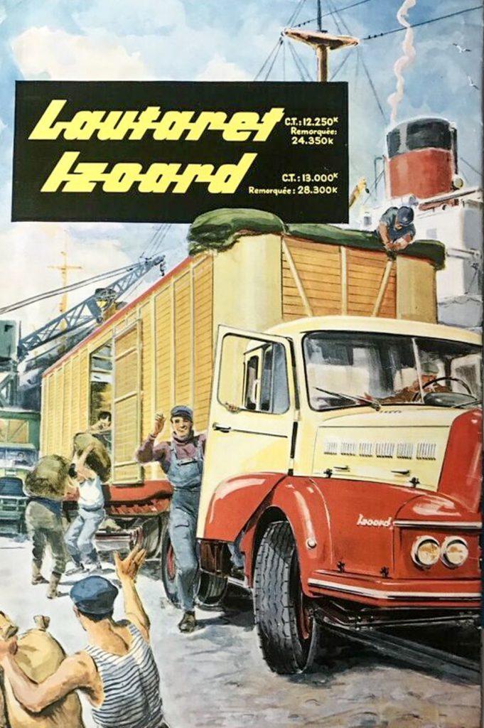 Camion Unic Lautaret et Izoard - Publicité
