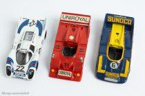 Porsche 917/30 CanAm 1973 - Eligor Réf. 2001 & Porsche 917 K et 917/10 Solido