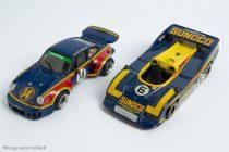 Porsche 917/30 CanAm 1973 Eligor & Porsche 911 RSR de 1975 AMR : Ecurie Penske Racing