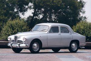 Alfa Roméo 1900 berline de 1950 (crédit Alfa Roméo)