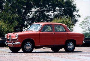 Alfa Roméo Giulietta berline de 1954 (crédit Alfa Roméo)
