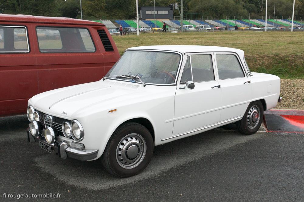 Alfa Roméo Giulia TI berline de 1963