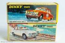 Dinky Toys réf. 1401 et 514 - Alfa Roméo Giulia 1600 TI