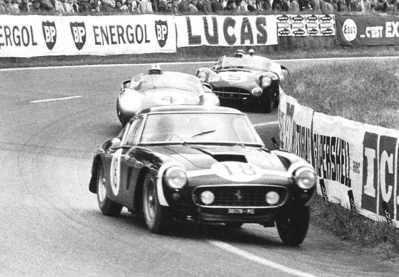Ferrari 250 GT Berlinetta SWB 2735 GT - 24 Heures du Mans 1961