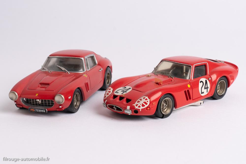 Ferrari 250 GT Berlinetta SWB et Ferrari GTO - kits X/AMR