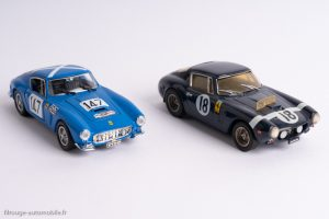 Ferrari 250 GT Berlinetta SWB 2787 GT (Jouef Evolution) & 2735 GT (X/AMR)