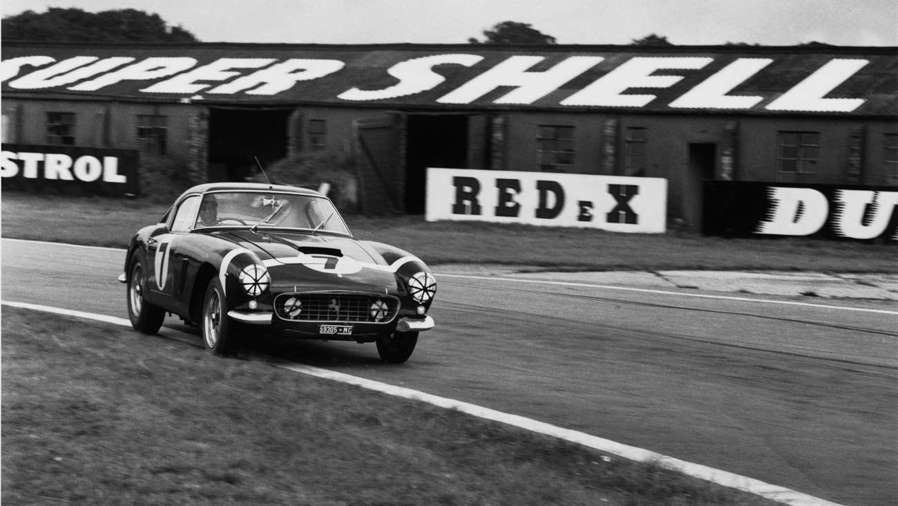 Ferrari 250 GT Berlinetta SWB 2119 GT - Tourist Trophy Goodwood 1960 - Stirling Moss vainqueur
