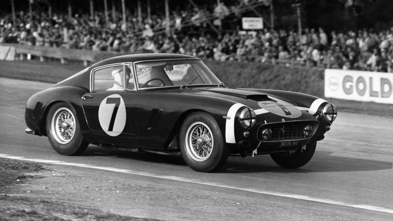 Ferrari 250 GT Berlinetta SWB 2735 GT - Tourist Trophy Goodwood 1961 - Stirling Moss vainqueur