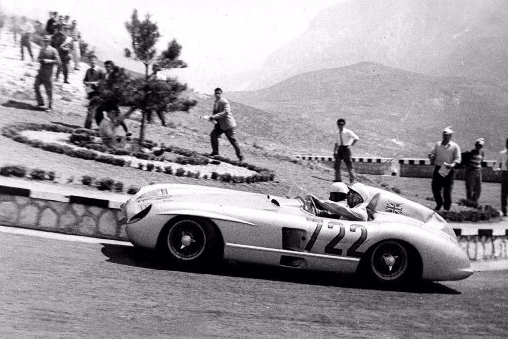 Stirling Moss - Vainqueur des Mille Miles 1955 sur Mercedes-Benz