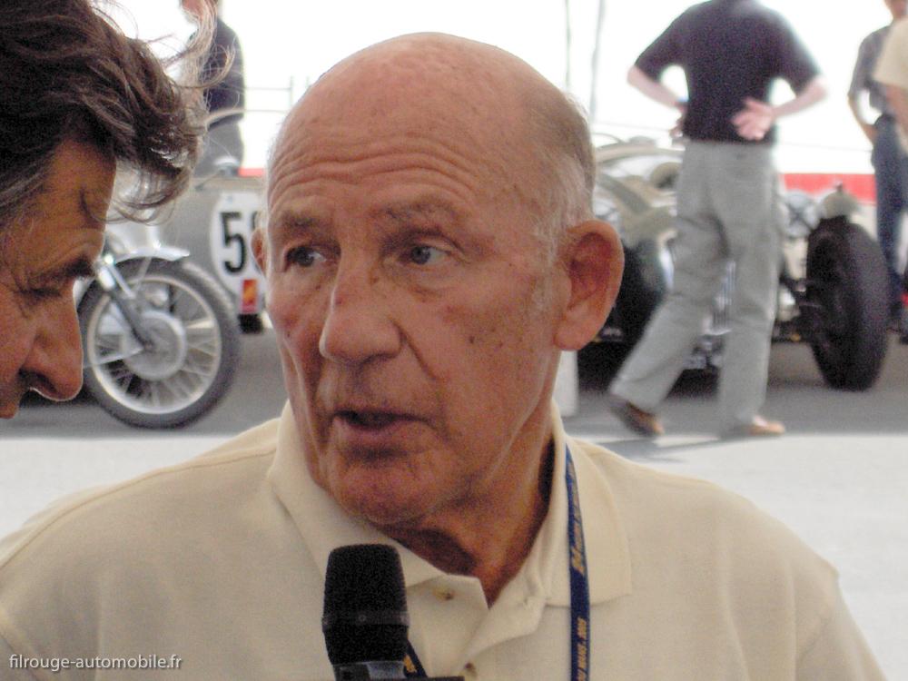 Stirling Moss sur - Le Mans Legend 2007