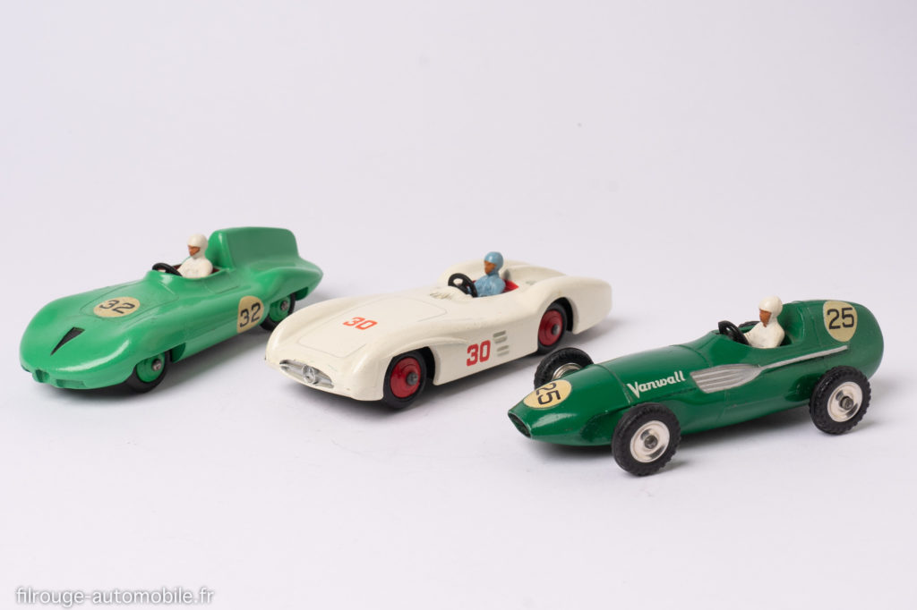 Dinky Toys : Connaught 236, Mercedes 237 ,Vanwall 239